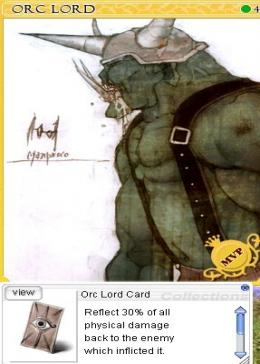Cheap Ragnarok Online(US) Chaos Orc Lord Card