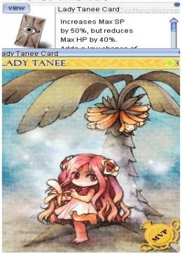 Cheap Ragnarok Online(US) Chaos Lady Tanee Card