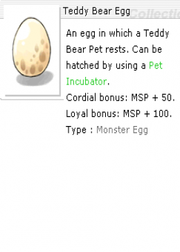 Cheap Ragnarok Online(EU) Chaos Teffy Bear Egg *10