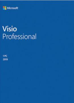 Cheap Software  Visio Professional 2019 Key Global