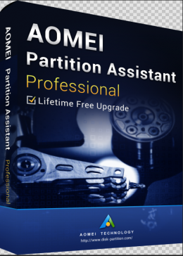 Cheap Software AOMEI Partition Assistant Professional + Free Lifetime Upgrades 8.0 Edition Key Global