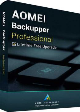Cheap Microsoft  AOMEI Backupper Professional + Free Lifetime Upgrades Key Global