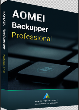 Cheap Software AOMEI Backupper Professional Edition 365 Days 5.6 Key Global
