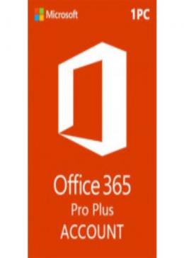 Cheap Microsoft Microsoft Office 365 Account Global 1 Device