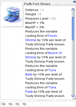 Cheap Ragnarok Online(US) Chaos Fluffy Fish Shoes