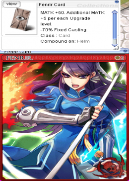 Cheap Ragnarok Online(US) Thor Fenrir Card