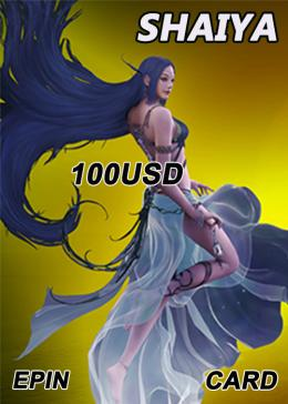 Cheap Shaiya(US) Shaiya 100 Usd Epin Ap Card