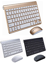 2.4G WIRELESS MINI KEYBOARD MOUSE COMBO FOR OFFICE