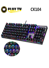 MOTOSPEED CK104 GAMING MECHANICAL KEYBOARD BLACK ENGLISH VERSION