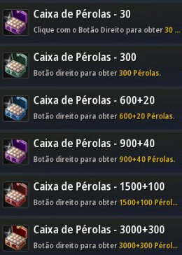 Cheap Black Desert Online South America (ES PT) 3000+300 Perla