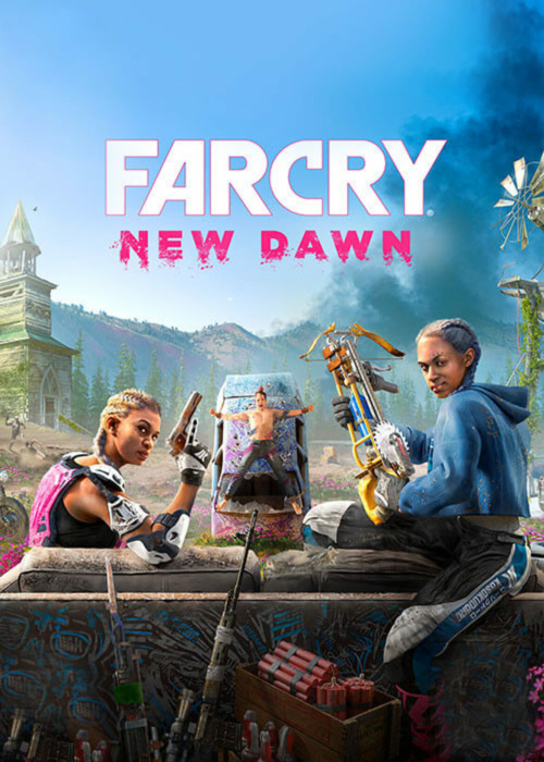 Cheap Uplay Games  Far Cry New Dawn Uplay Key EU