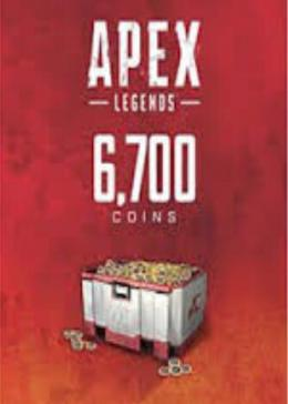 Cheap Origin Games Apex Legends 6000(+700 Bonus) Coins Cloud Activation Key GLOBAL