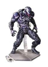 PLAY ARTS MARVEL VENOM IN MOVIE SPIDERMAN ACTION FIGURE TOYS 25CM
