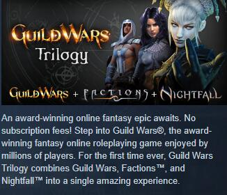 Cheap Guild Wars  Guild Wars Trilogy
