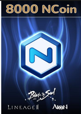 Cheap PC Games  8000 NCoins NCSoft European Code