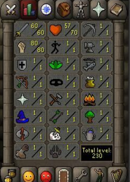 Cheap Runescape Old School Atk60 Str80