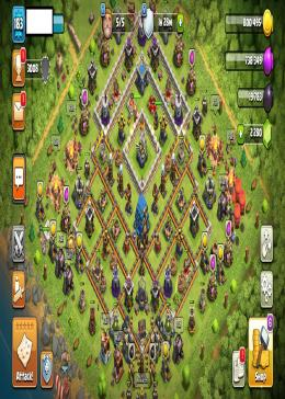 Cheap Clash of Clans Global LV 183/TH 12-5 - BK 52 AQ 54 GW 30 | Gems 2280 | Android & IOS