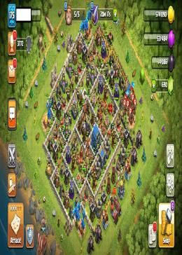 Cheap Clash of Clans Global LV 175/TH 12-5 - BK 54 AQ 60 GW 27 | Gems 690 | Android & IOS