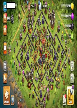 Cheap Clash of Clans Global LV 125/TH 10 - BK 40 AQ 40 | Gems 1335 | Android & IOS