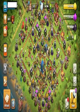 Cheap Clash of Clans Global LV 186/TH 12-5 - BK 47 AQ 60 GW 30 | Gems 50 | Android & IOS