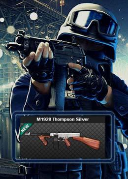 Cheap PointBlank ARMA M1928 Thompson Silver (90day)