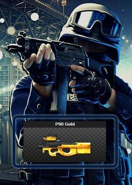 Cheap PointBlank ARMA P90 Gold (90day)