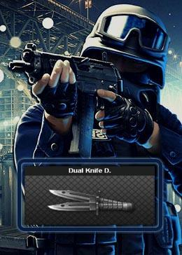 Cheap PointBlank ARMA Dual Knife D. (90day)