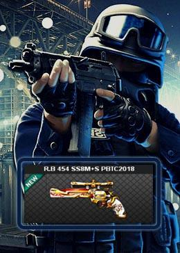 Cheap PointBlank ARMA R.B 454 SS8M+S PBTC2018 (90day)