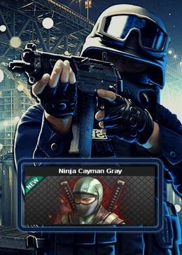 Cheap PointBlank CARACTER Ninja Cayman Gray (90day)