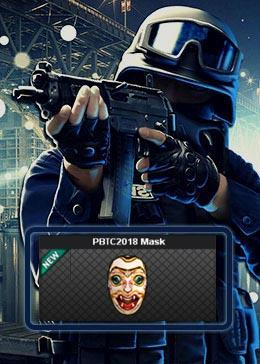 Cheap PointBlank CARACTER PBTC2018 Mask (90day)