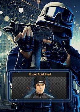 Cheap PointBlank CARACTER Scout Acid Paul (90day)
