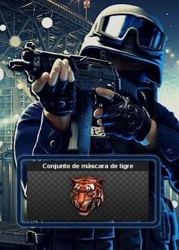 Cheap PointBlank CARACTER Conjunto de mascara de tigre (90day)