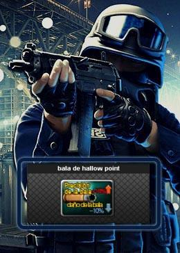 Cheap PointBlank ITEM bala de hallow point (90day)