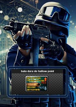 Cheap PointBlank ITEM bala dura de hallow point (90day)
