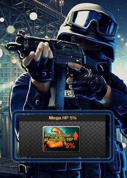 Cheap PointBlank ITEM Mega HP 5% (90day)