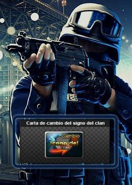 Cheap PointBlank ITEM Carta de cambio del signo del clan (1Unidad)