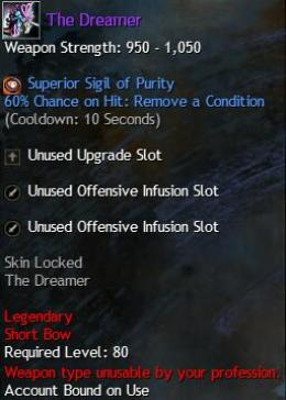 Cheap Guild War 2 Legendary Weapons The Dreamer