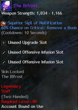Cheap Guild War 2 Legendary Weapons The Bifrost
