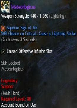 Cheap Guild War 2 Legendary Weapons Meteorlogicus