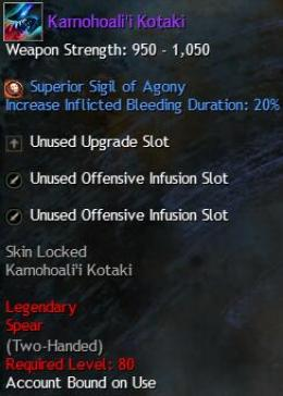 Cheap Guild War 2 Legendary Weapons Kamohoali'i Kotaki