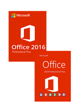 Cheap Software  Office 16 Professional Plus + Office 19 Professional Plus CD Key Pack