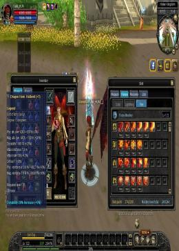 Cheap Silkroad Online Aether ZB10111 122 SPEAR NUKER FF MAX LEGEND WEAPON D13 + 7 + AVATAR SET D13 D12 LEGEND AND RARE