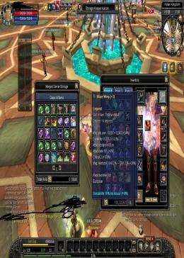 Cheap Silkroad Online Aether ZB10119 lvl 125 wizard 3 honor buff academy  + staff legend d14 + 3 + avatar + set d13 legend