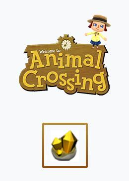 Cheap Animal Crossing Basic materials gold nuggct*300