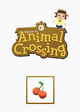 Cheap Animal Crossing Basic materials cherry*100