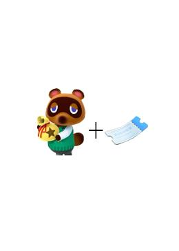 Cheap Animal Crossing Package 6M Money+100 nook tickets