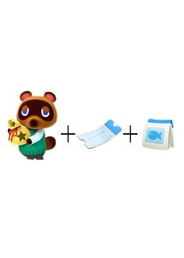 Cheap Animal Crossing Package 10M Money+200 nook tickets+200 fish bait