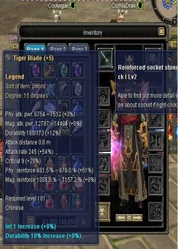 Cheap Silkroad Online Xian ZB10215 WTS THIS WEAPON D15  SWORD LEGEND +5