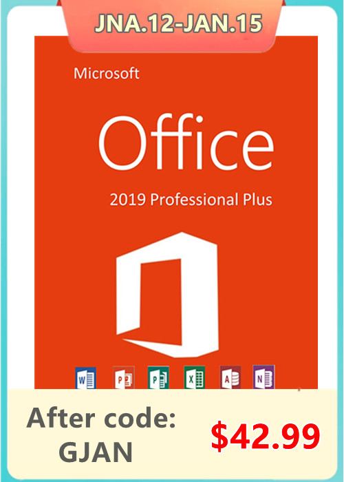Cheap Software  Office2019 Professional Plus CD Key(January Sale)