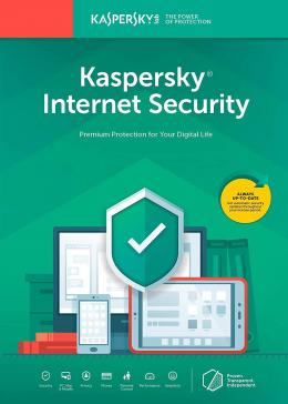 Cheap Software  Kaspersky Internet Security 1 PC 1 Year Global Key
